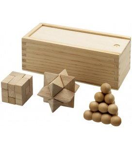 Brainiac Denksportspiel aus Holz, 3-teiligBrainiac Denksportspiel aus Holz, 3-teilig Bullet