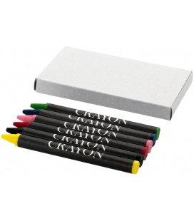 6-piece crayon set6-piece crayon set Bullet