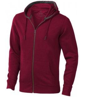 Mikina Arora s kapucí, zip v celé délce Elevate