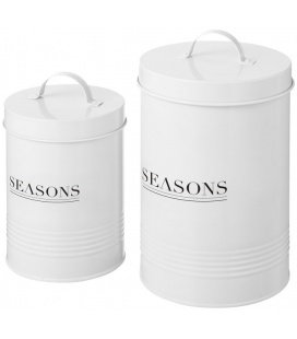 Porto 2-piece storage jar setPorto 2-piece storage jar set Seasons