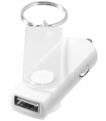 Swivel car adapter key chainSwivel car adapter key chain Bullet