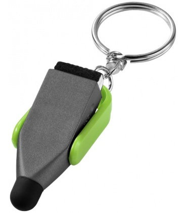 Arc stylus and screen cleaner key chainArc stylus and screen cleaner key chain Bullet
