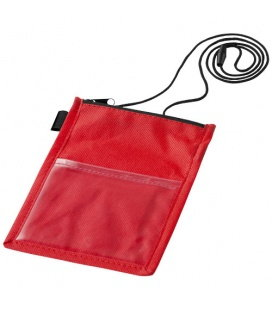 Identify badge holder pouch with pen loopIdentify badge holder pouch with pen loop Bullet