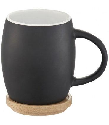 Hearth Ceramic Mug with Wood Lid/CoasterHearth Ceramic Mug with Wood Lid/Coaster Avenue