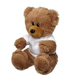 Velký plyšový sedící medvěd v tričku Bullet