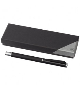 Pedova rollerball pen with leather barrelPedova rollerball pen with leather barrel Marksman