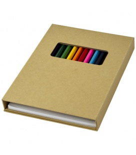 Pablo colouring set with drawing paperPablo colouring set with drawing paper Bullet