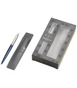 Jotter royal blue gift set with pen and pouchJotter royal blue gift set with pen and pouch Parker