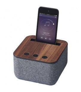 Shae fabric and wood Bluetooth® speakerShae fabric and wood Bluetooth® speaker Avenue