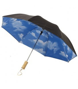 "21"" Blue skies 2-section automatic umbrella21"" Blue skies 2-section automatic umbrella Avenue"