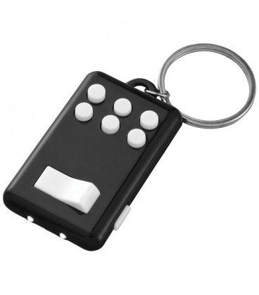 Flip-and-click anti-stress LED light keychainFlip-and-click anti-stress LED light keychain Bullet