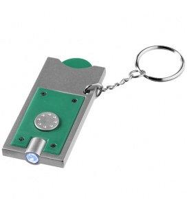Přívěsek na klíče Allegro s žetonem do vozíku a svítilnou Bullet