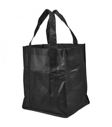 Savoy slash pocket laminated non-woven tote bagSavoy slash pocket laminated non-woven tote bag Bullet