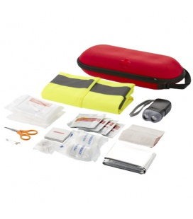 Handies 46-piece first aid kit and safety vestHandies 46-piece first aid kit and safety vest Bullet