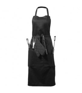 Bear BBQ apron with utensils and gloveBear BBQ apron with utensils and glove Bullet