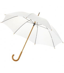 "Jova 23"" umbrella with wooden shaft and handleJova 23"" umbrella with wooden shaft and handle Bullet"