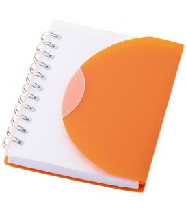 Post spiral A7 notebook with blank pagesPost spiral A7 notebook with blank pages Bullet