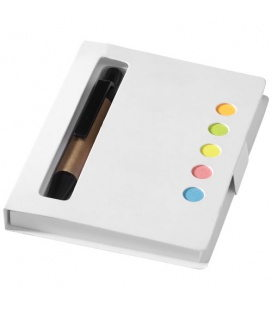 Reveal coloured sticky notes booklet with penReveal coloured sticky notes booklet with pen Bullet