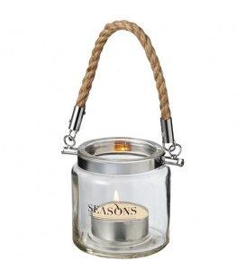 Solano glass lanternSolano glass lantern Seasons