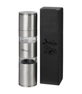 Dual stainless steel pepper and salt grinderDual stainless steel pepper and salt grinder Paul Bocuse