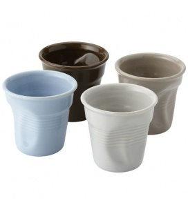 Milano 4-piece ceramic espresso cup setMilano 4-piece ceramic espresso cup set Seasons