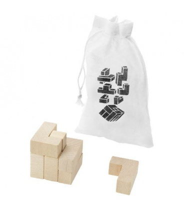 Solfee wooden squares brain teaser with pouchSolfee wooden squares brain teaser with pouch Bullet