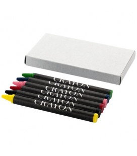 Ayo 6-piece coloured crayon setAyo 6-piece coloured crayon set Bullet