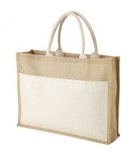 Mumbay cotton pocket jute tote bagMumbay cotton pocket jute tote bag Bullet