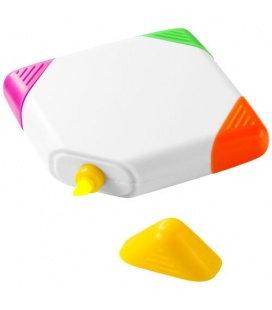 Trafalgar square-shaped 4-colour highlighterTrafalgar square-shaped 4-colour highlighter Bullet