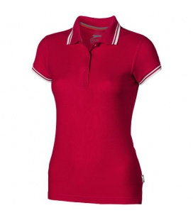 Deuce short sleeve women's polo with tippingDeuce short sleeve women's polo with tipping Slazenger