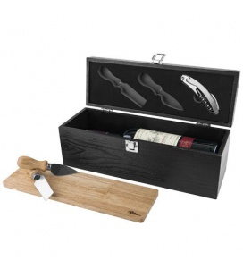 Mino wine box and cheese board setMino wine box and cheese board set Paul Bocuse