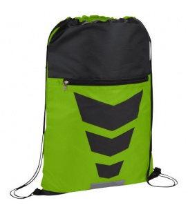 Courtside zippered pocket drawstring backpackCourtside zippered pocket drawstring backpack Bullet