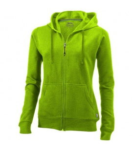 Open full zip hooded ladies sweaterOpen full zip hooded ladies sweater Slazenger