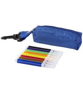 Bolt 8-piece coloured marker set with pouchBolt 8-piece coloured marker set with pouch Bullet