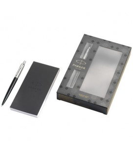 Jotter Bond Street gift set with pen and notepadJotter Bond Street gift set with pen and notepad Parker