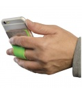 Storee silicone smartphone wallet with finger slotStoree silicone smartphone wallet with finger slot Bullet