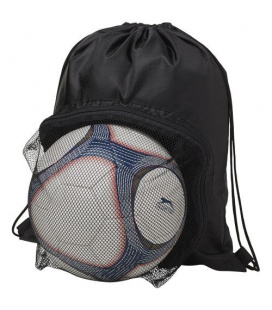Goal drawstring backpack with football compartmentGoal drawstring backpack with football compartment Bullet