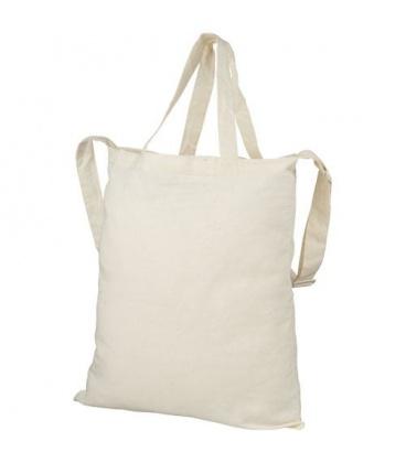 Verona 100 g/m2 dual carry cotton tote bagVerona 100 g/m2 dual carry cotton tote bag Bullet