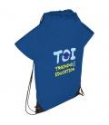 Cheer T-shirt-shaped drawstring backpackCheer T-shirt-shaped drawstring backpack Bullet