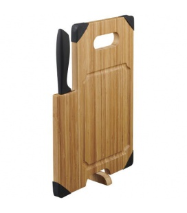 Avery bamboo cutting board with knifeAvery bamboo cutting board with knife Avenue