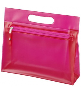 Paulo transparent PVC toiletry bagPaulo transparent PVC toiletry bag Bullet