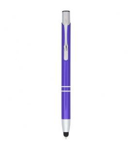 Moneta anodized aluminium click stylus ballpoint penMoneta anodized aluminium click stylus ballpoint pen Bullet