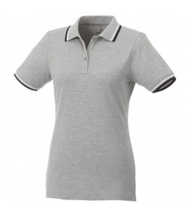 Fairfield short sleeve women's polo with tippingFairfield short sleeve women's polo with tipping Elevate