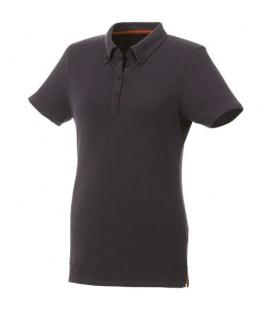 Atkinson short sleeve button-down women's poloAtkinson short sleeve button-down women's polo Elevate