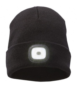 Mighty LED knit beanie, BlackMighty LED knit beanie, Black Elevate