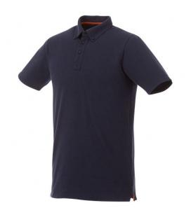 Atkinson short sleeve button-down men's poloAtkinson short sleeve button-down men's polo Elevate