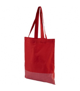 Aylin 140 g/m2 silver lines cotton tote bagAylin 140 g/m2 silver lines cotton tote bag Bullet