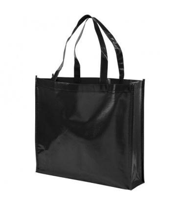 Shiny laminated non-woven shopping tote bagShiny laminated non-woven shopping tote bag Bullet