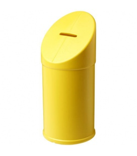Heba plastic charity collector containerHeba plastic charity collector container PF Manufactured