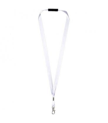 Oro ribbon lanyard with break-away closureOro ribbon lanyard with break-away closure PF Manufactured